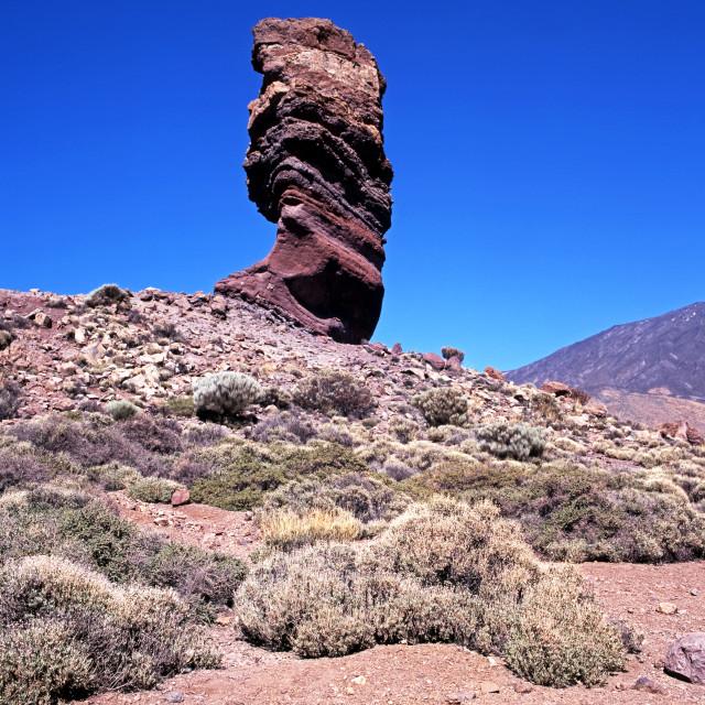 """Las Canadas National Park, Tenerife, Spain"" stock image"