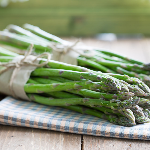 """Green asparagus"" stock image"