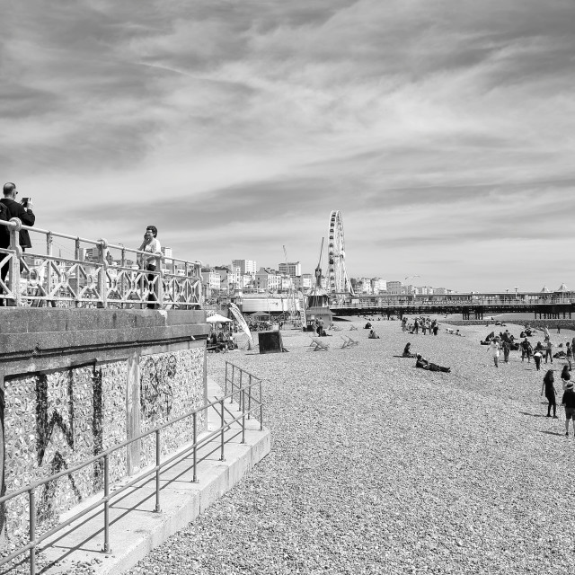 """Brighton in May"" stock image"