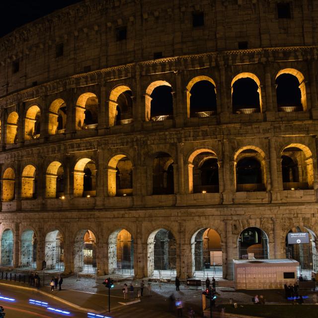 """Colosseum at ni"" stock image"
