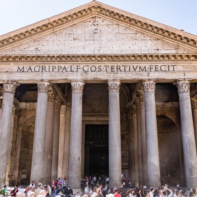 """Pantheon Rome"" stock image"