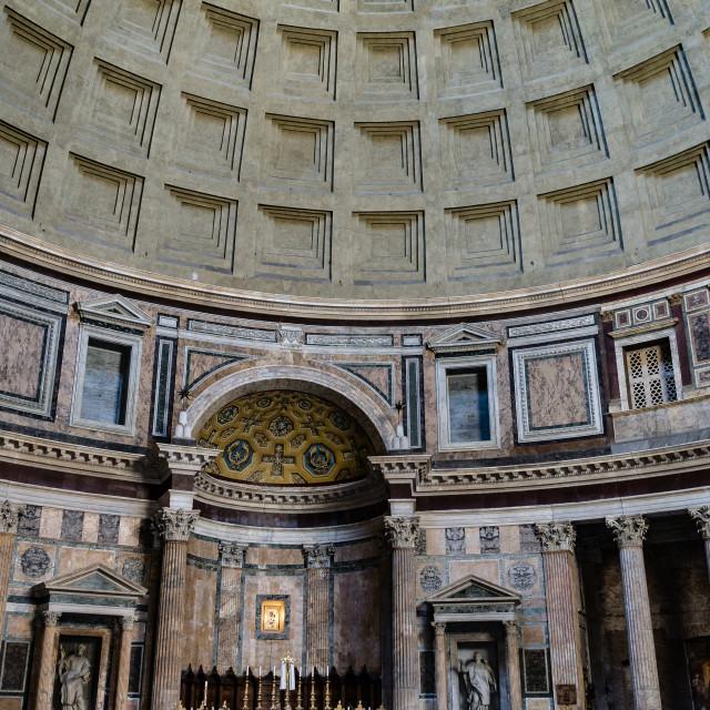 """""""pantheon inside"""" stock image"""