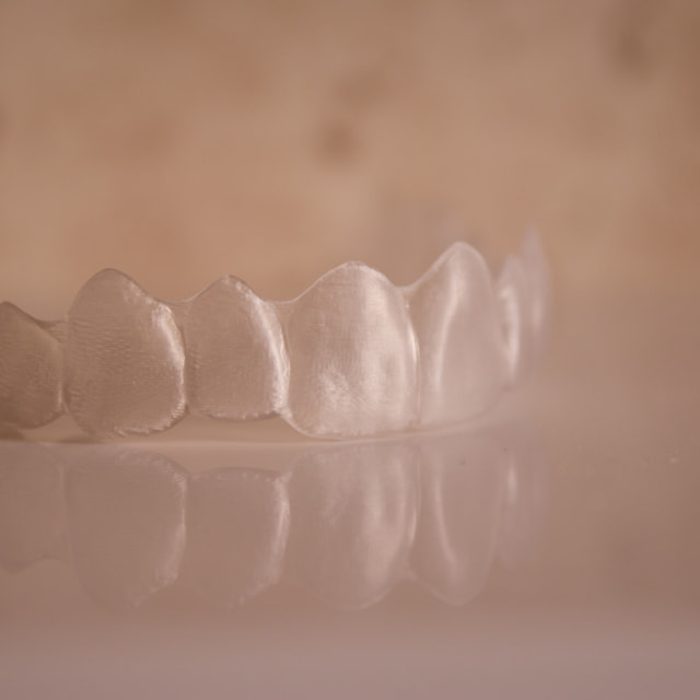 """""""Top of invisible orthodontics"""" stock image"""