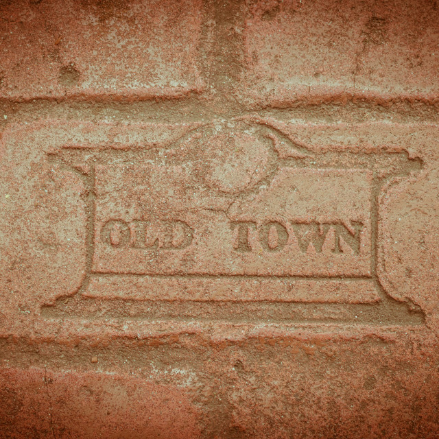 """""""Old Town"""" stock image"""