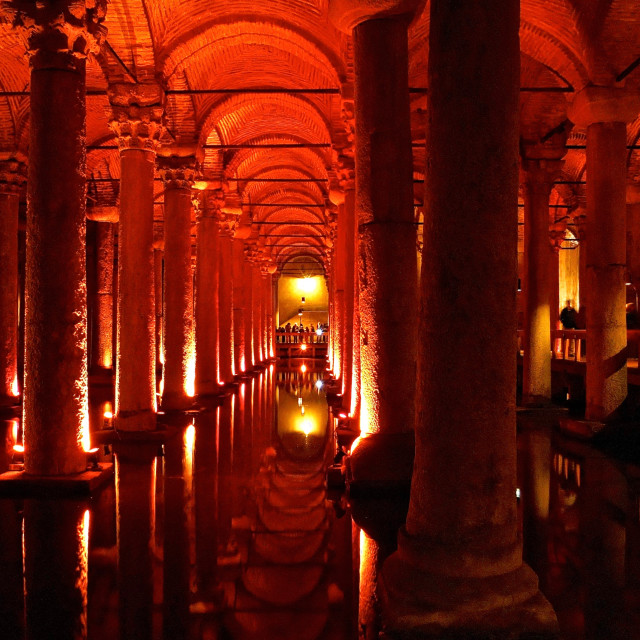 """Basilica Cistern"" stock image"
