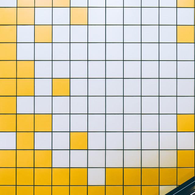 """""""Tan Kah Kee - Tetris"""" stock image"""