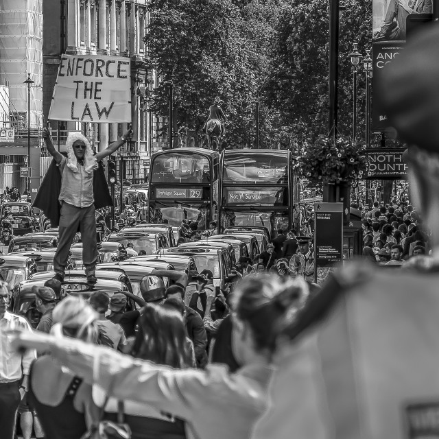 """Whitehall Demo"" stock image"