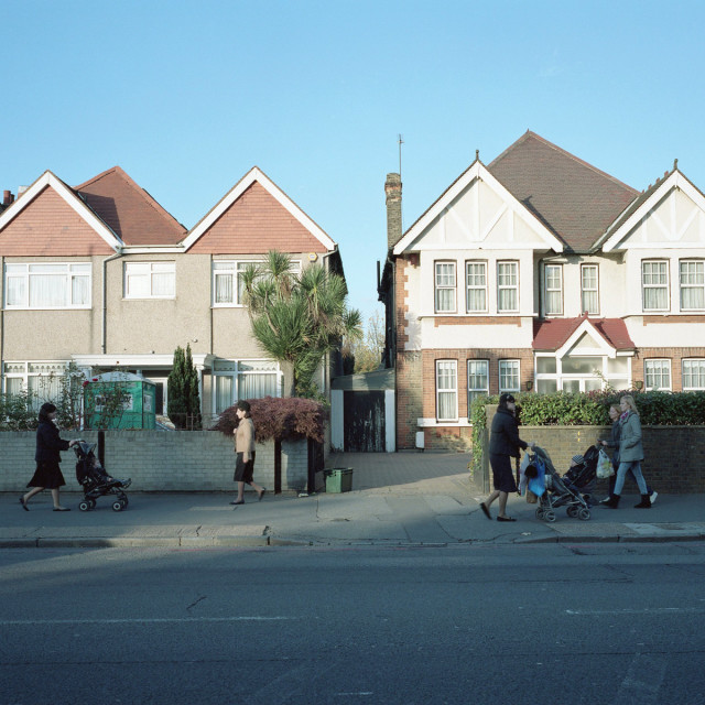 """Stamford Hill, London"" stock image"