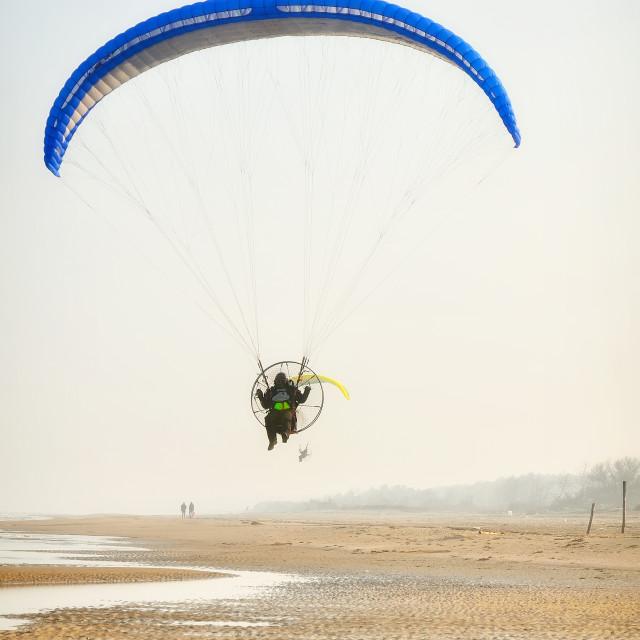 """paraglider"" stock image"