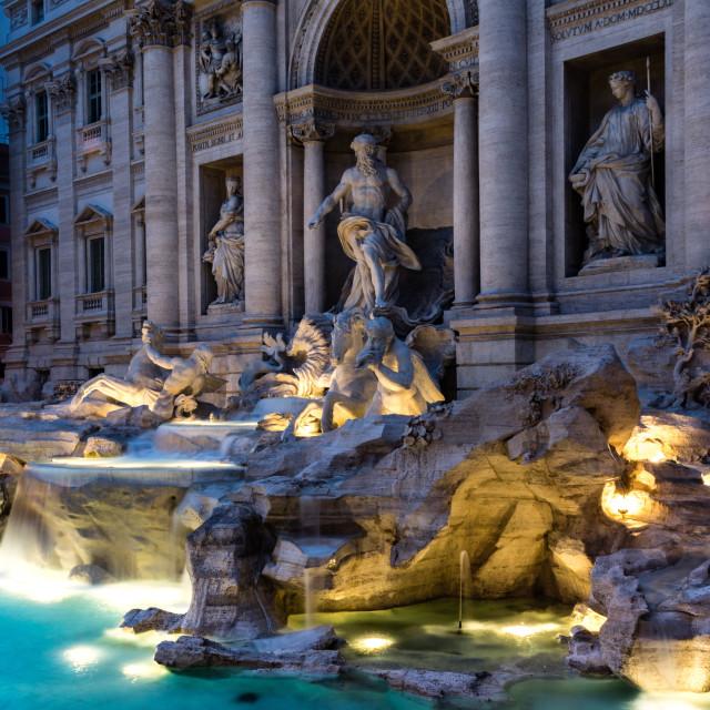 """Trevi fountain"" stock image"