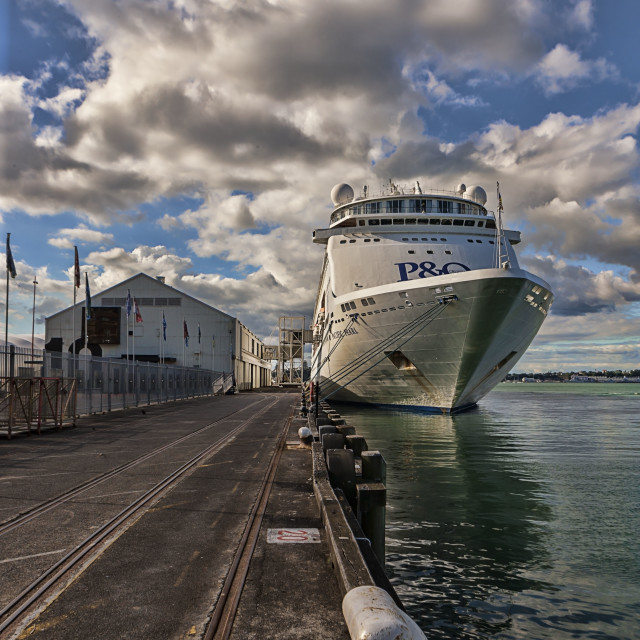 """""""Princess Wharf"""" stock image"""