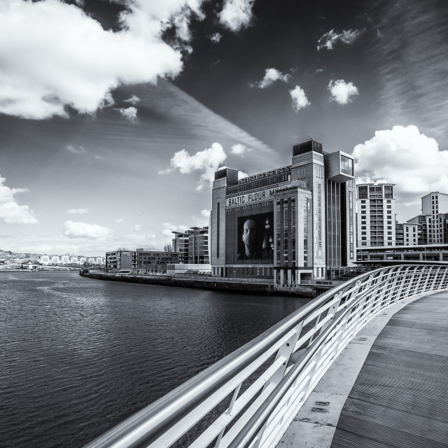 """The Baltic Centre, Newcastle uopn Tyne"" stock image"