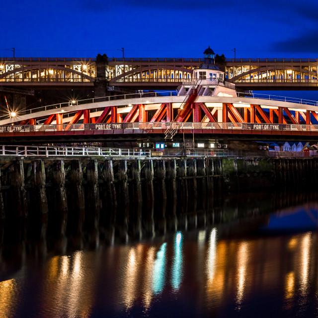 """Two iconic bridges"" stock image"