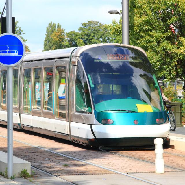 """""""Tramway"""" stock image"""