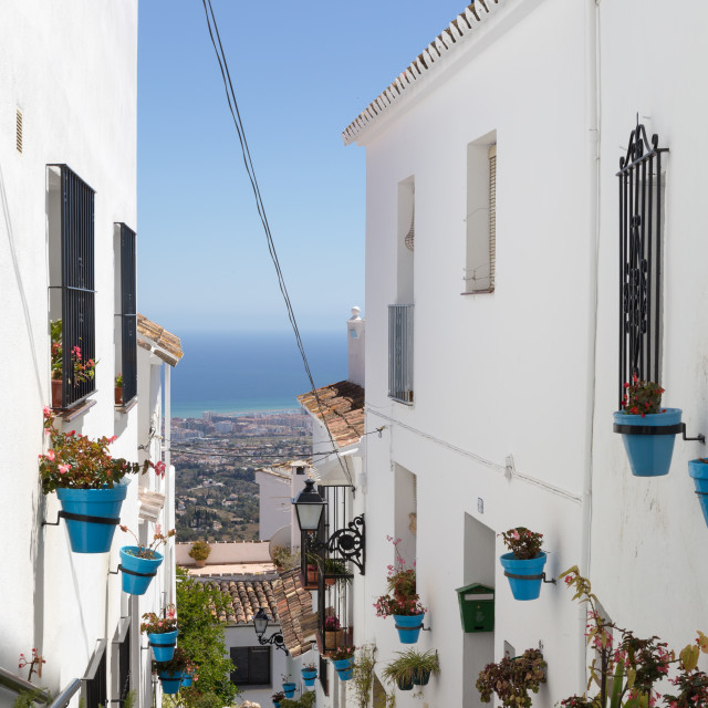 """Mijas, Spain"" stock image"