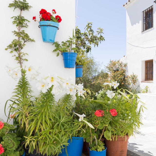 """""""Mijas, Spain"""" stock image"""