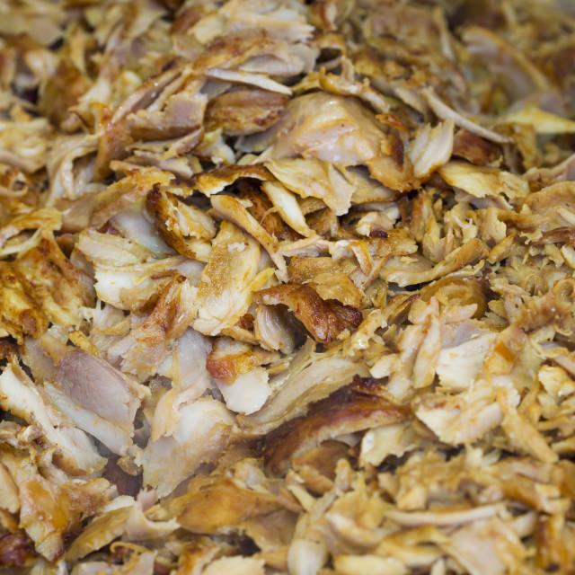 """Greek Gyros meat"" stock image"