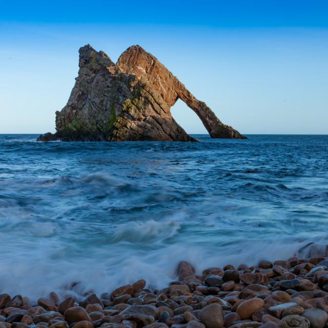 """Bow Fiddel Rock"" stock image"