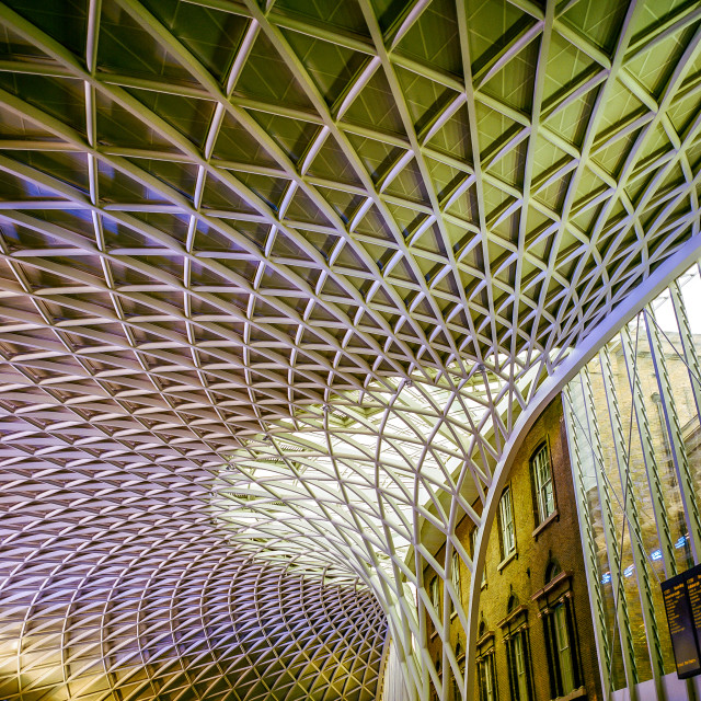 """kings cross ceiling"" stock image"