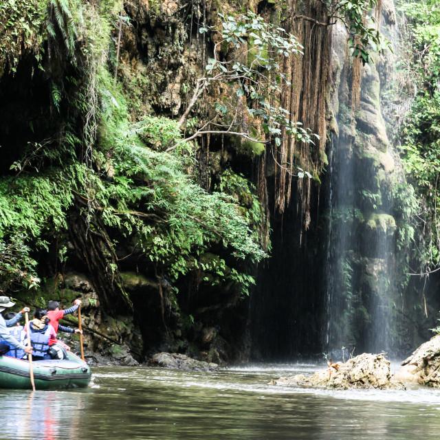 """The Thi Lor Jor Waterfall"" stock image"