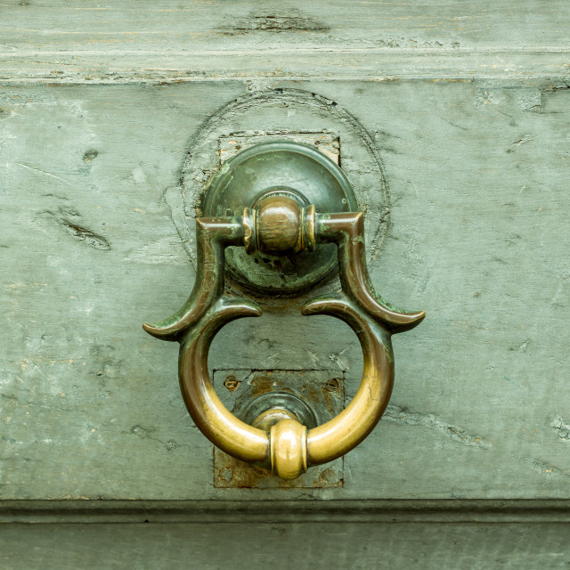 """""""Detail of old door"""" stock image"""