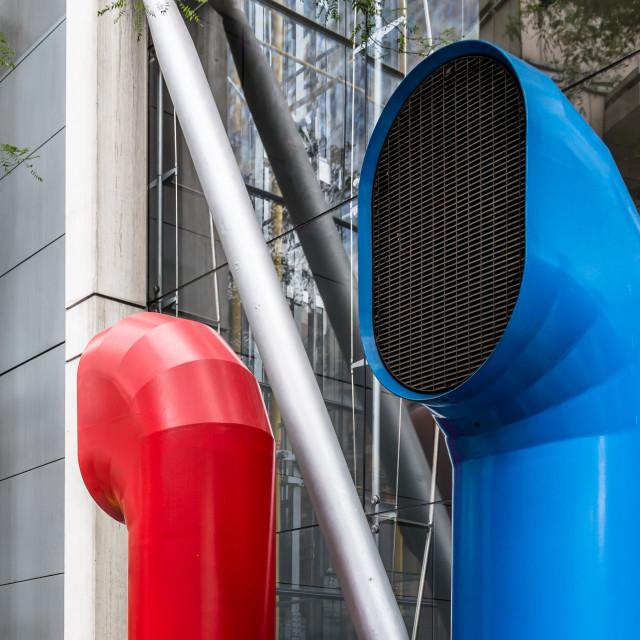 """""""Ventilation funnels"""" stock image"""