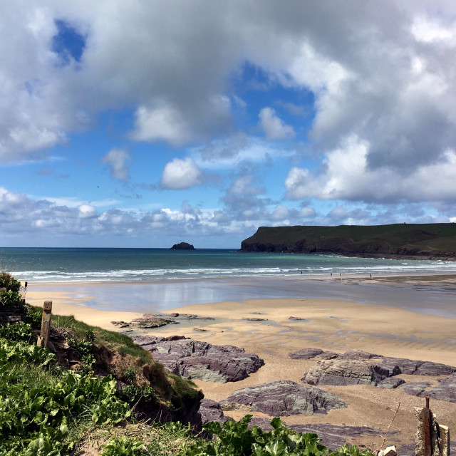 """Polzeath"" stock image"