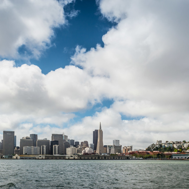 """San Francisco Skyline"" stock image"