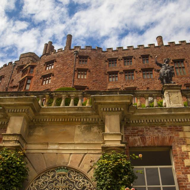 """""""Powis Castle"""" stock image"""