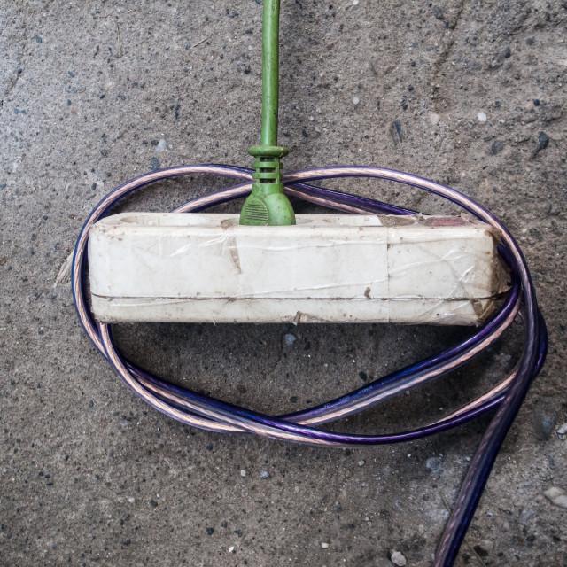 """Electric Socket"" stock image"