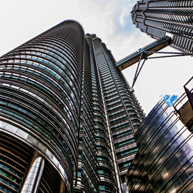 """Petronas Twin Tower"" stock image"
