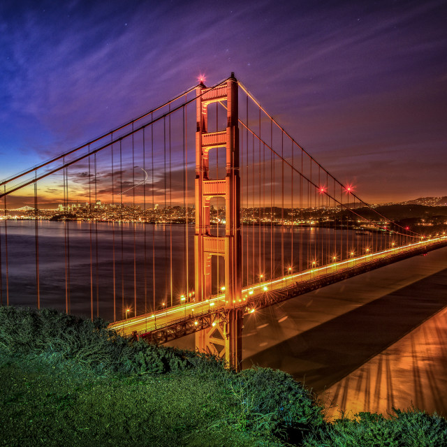 """Golden Gate bridge, San Francisco."" stock image"