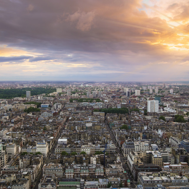 """London from above"" stock image"