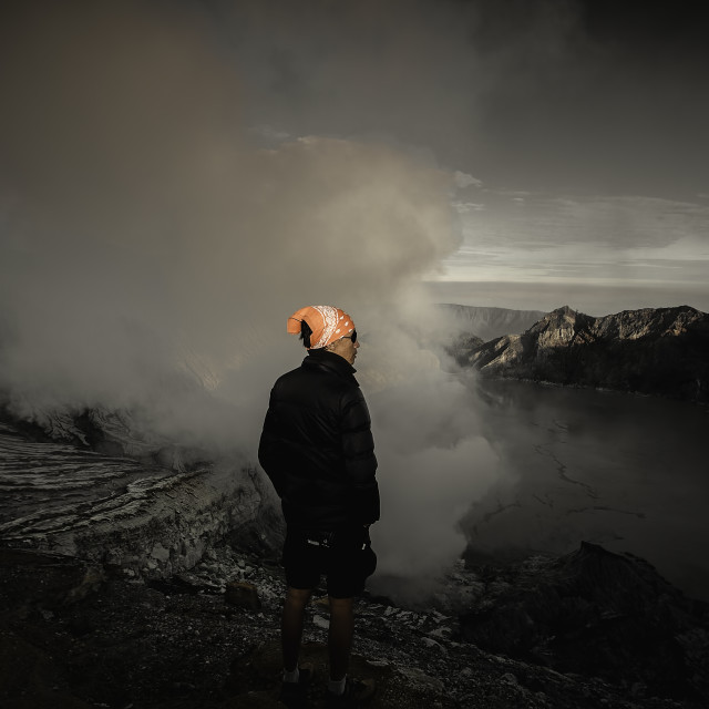 """""""Ijen Crater"""" stock image"""