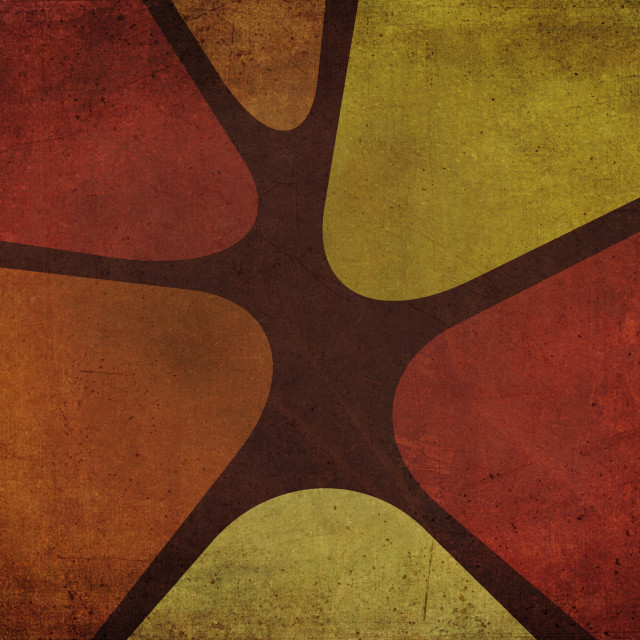 """""""Sixties or Seventies Decoration Background"""" stock image"""
