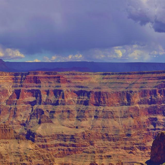 """Grand Canyon Panorama"" stock image"