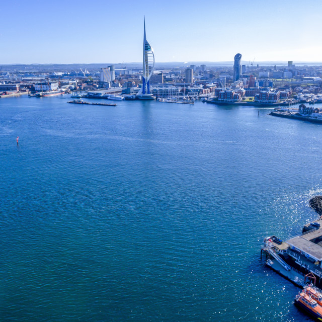 """""""The Solent"""" stock image"""