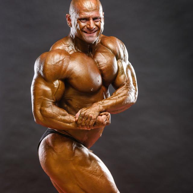 """Bodybuilder"" stock image"