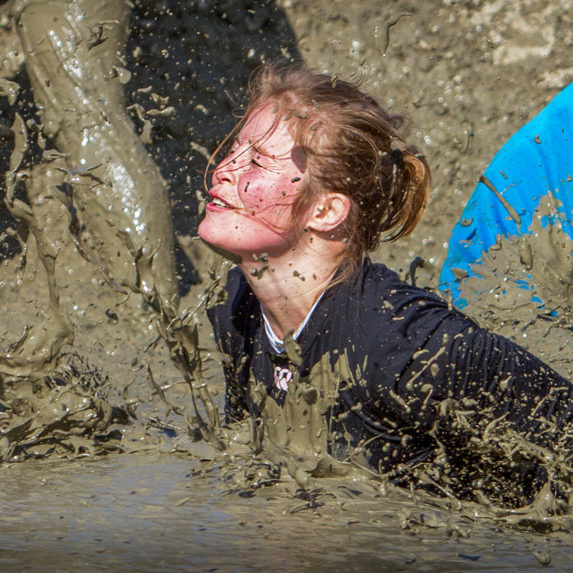 """Mud Jump"" stock image"