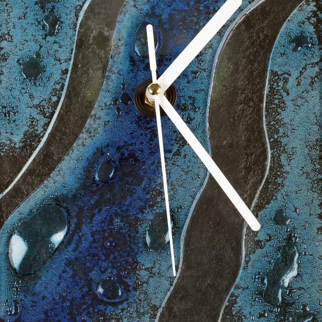 """Abstract wall clock"" stock image"