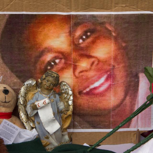 """Tamir Rice Memorial, Cleveland"" stock image"