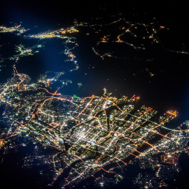 """Japan by night #2"" stock image"