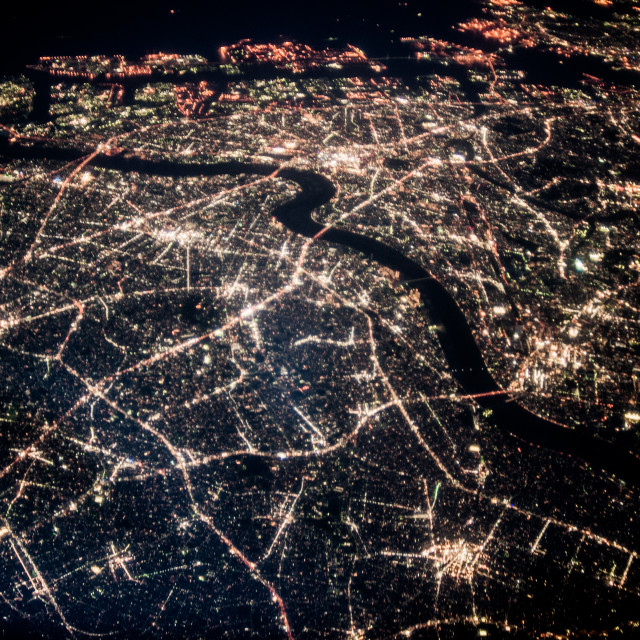 """Japan by night #3"" stock image"