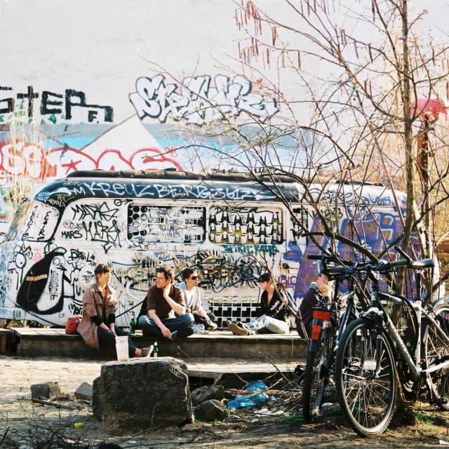 """Berlin Tacheles"" stock image"