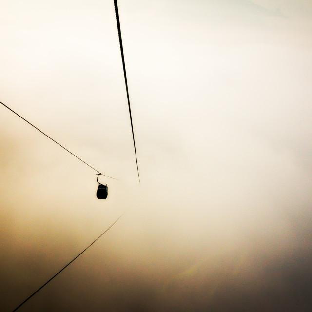 """""""Gondola II (Nepal)"""" stock image"""