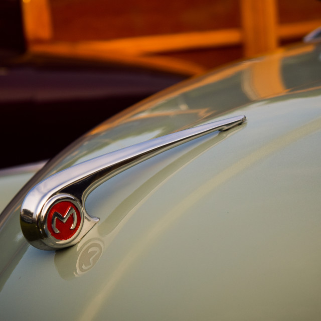 """Morris Minor"" stock image"