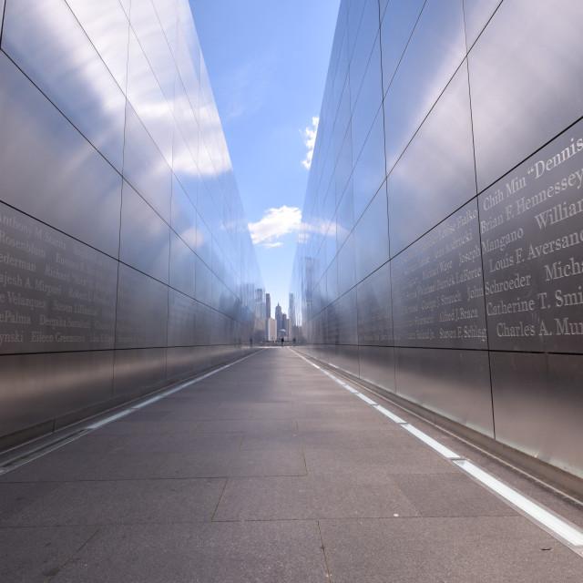 """""""Empty Sky Memorial"""" stock image"""