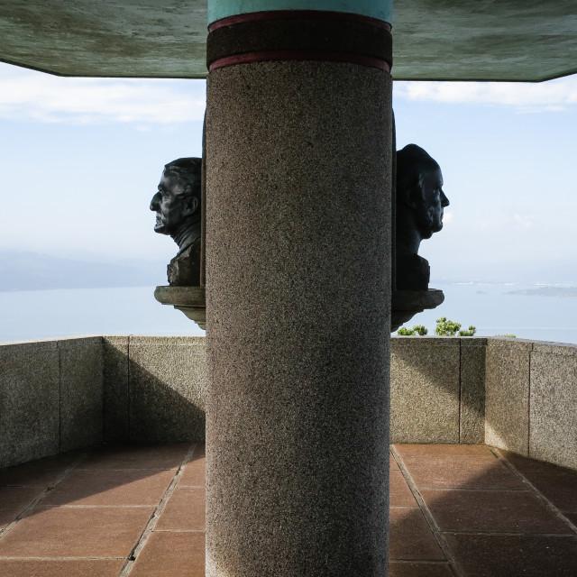 """Wellington Centennial memorial lookout."" stock image"