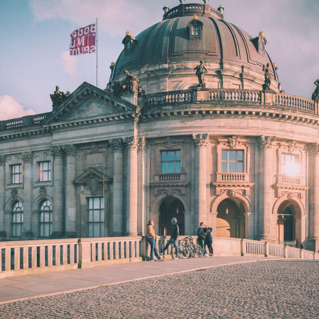 """""""Bodemuseum II"""" stock image"""
