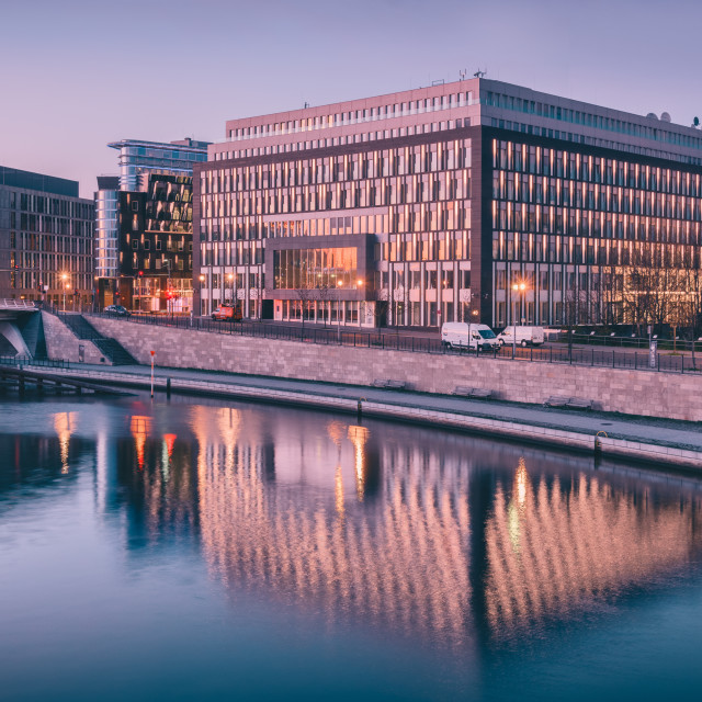 """Night Office"" stock image"